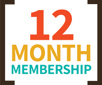 12 Month Membership icon