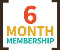 6 Month Membership icon